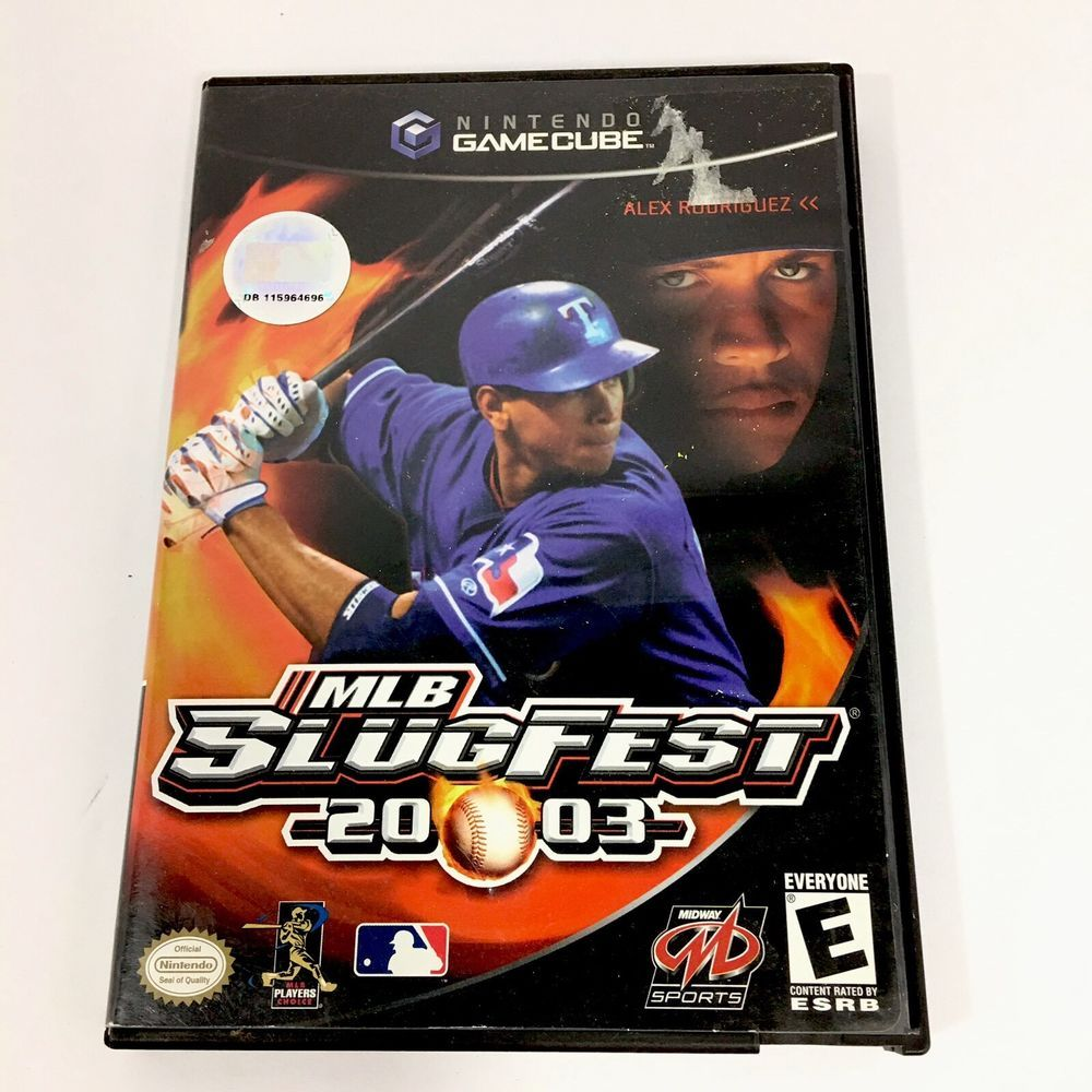 MLB Slugfest 2003 Nintendo Gamecube Video Game Alex