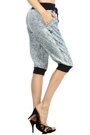 Fenti Denim Capri Pants - $45 at OnlyLeggings.com #OnlyLeggings