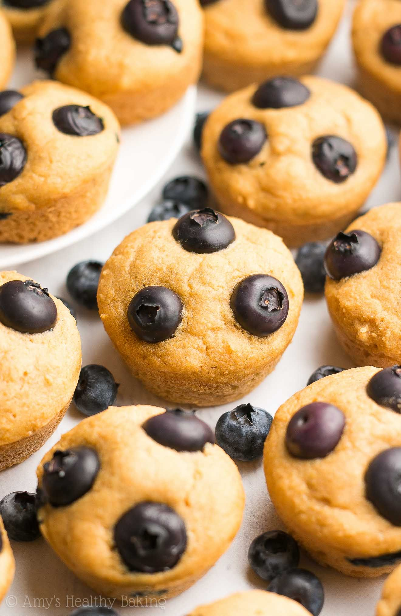 Healthy blueberry buttermilk pancake bites only 29
