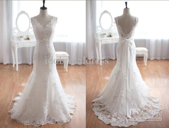 Lace inspired wedding dresses