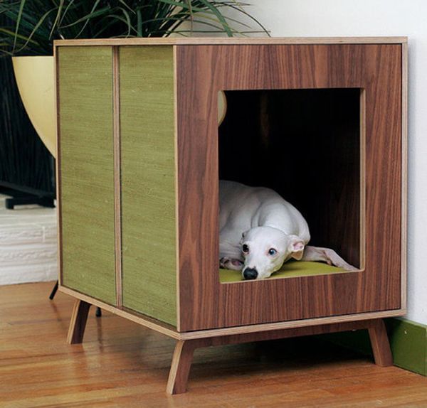 25 Cool Indoor Dog Houses Dog Furniture Dog Crate Cool Dog Houses