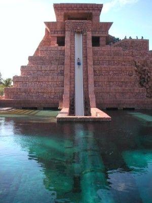 Water slides @ Atlantis Resort, Bahamas