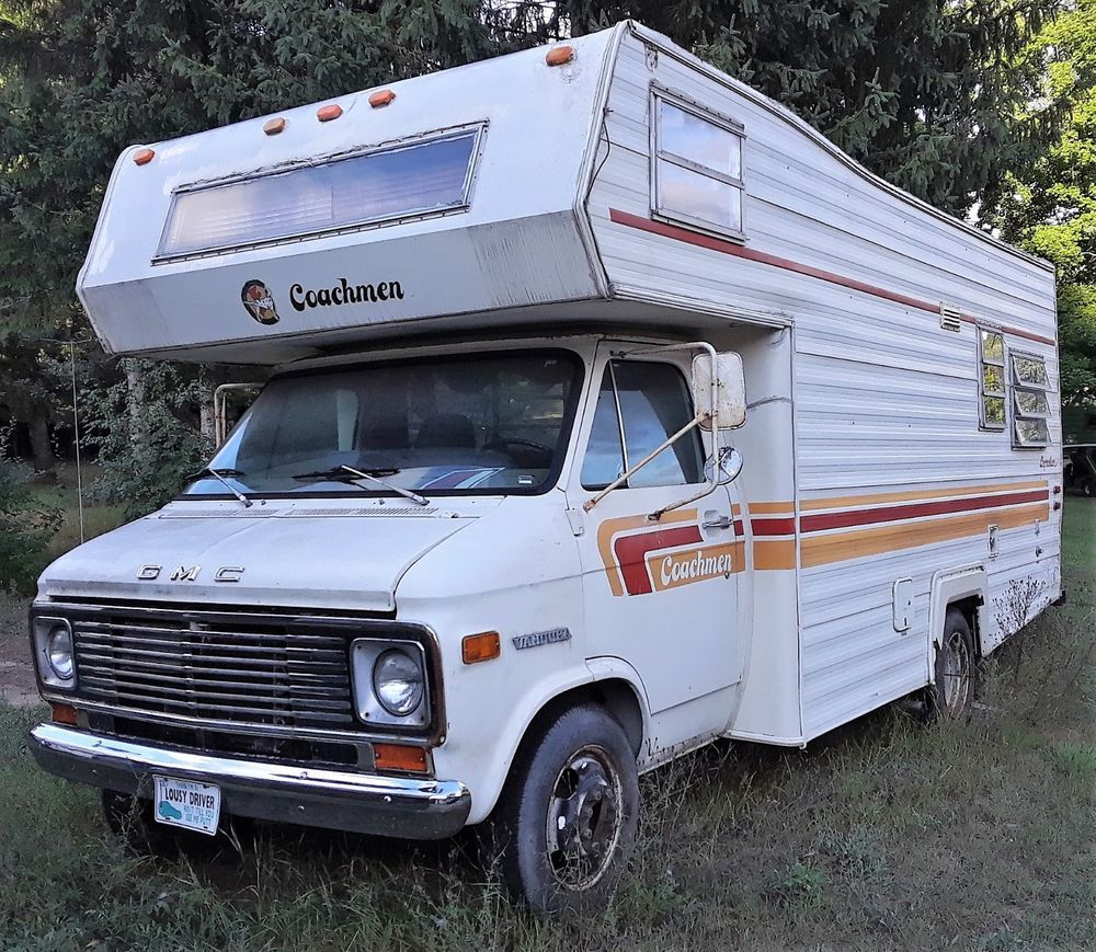 GENUINE 1976 GMC / COACHMEN / LEPRECHAUN RV / CAMPER #GMCCOACHMEN