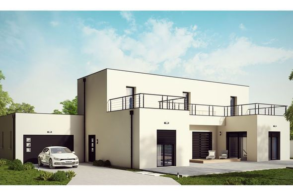 Modèle de maison Loft 2 -  Retrouvez tous les types de maison à - Modeles De Maisons A Construire