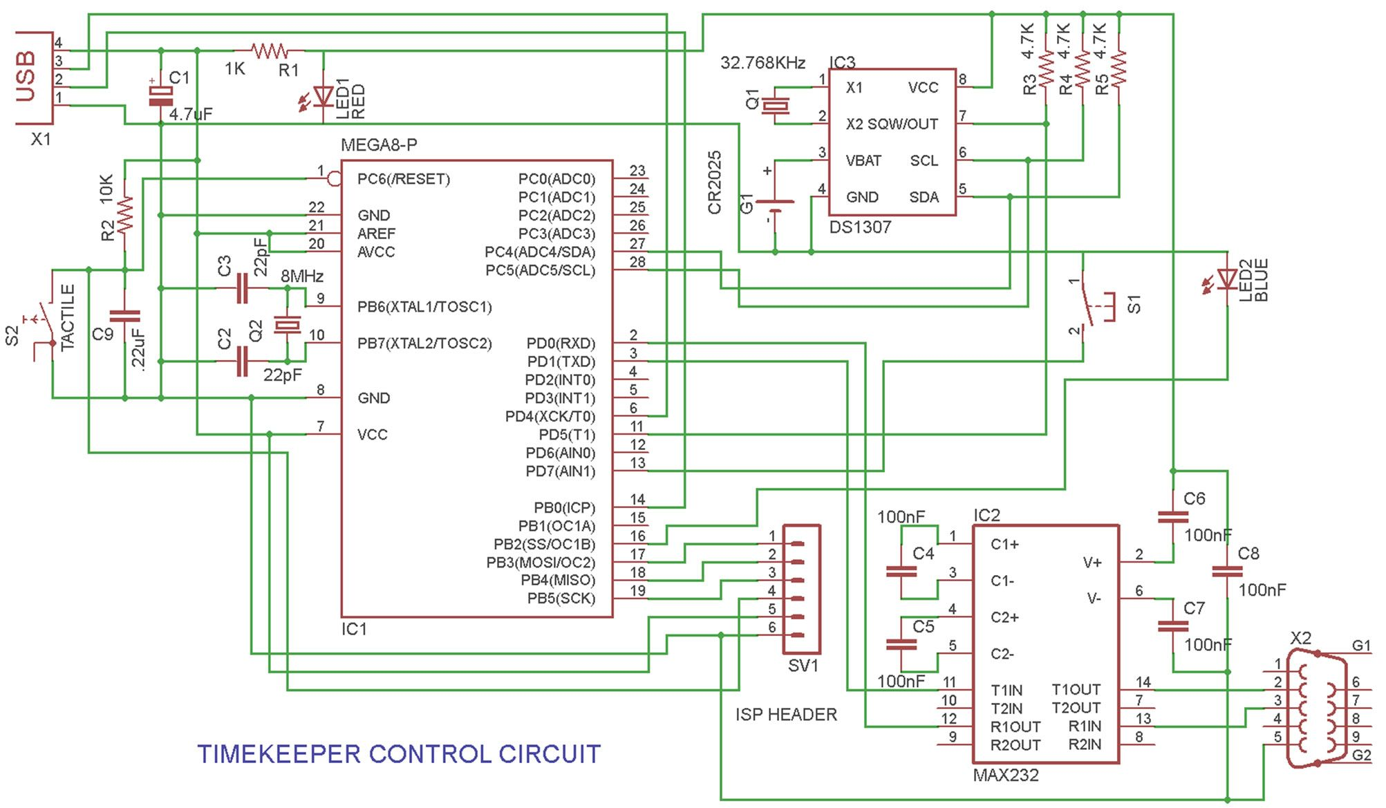 Microcontroller Based Project On Automatic School Bell Timer Diy Heartbeat Sensor Circuit Timekeepercontrol Which Minimize Human Efforts With A Precise