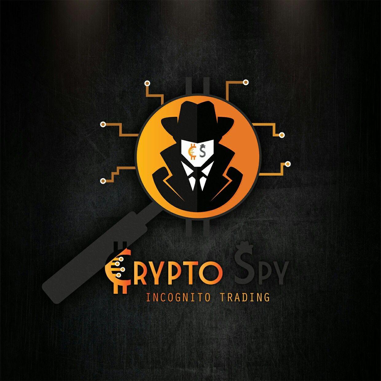 crypto spy logo design for portofolio always available on fiverr com xlfr designs logodesign logo branding graphicdesign il logo design 3d logo fiverr pinterest