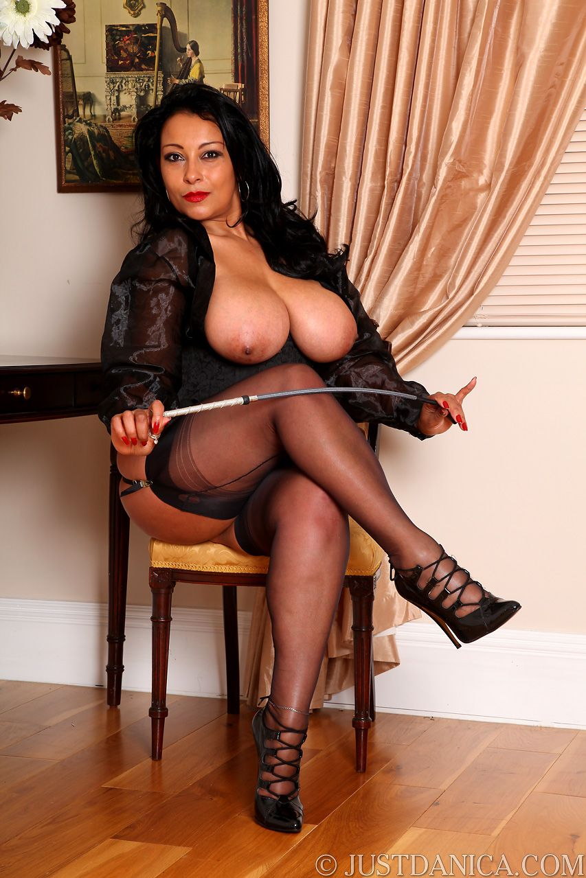 Stockings classy mature loves to tease
