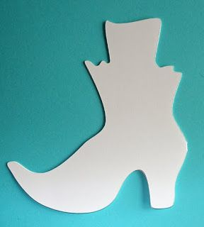 Free halloween witch boot template free templates area the free halloween witch boot template free templates area the name is halloween witch shoe click maxwellsz