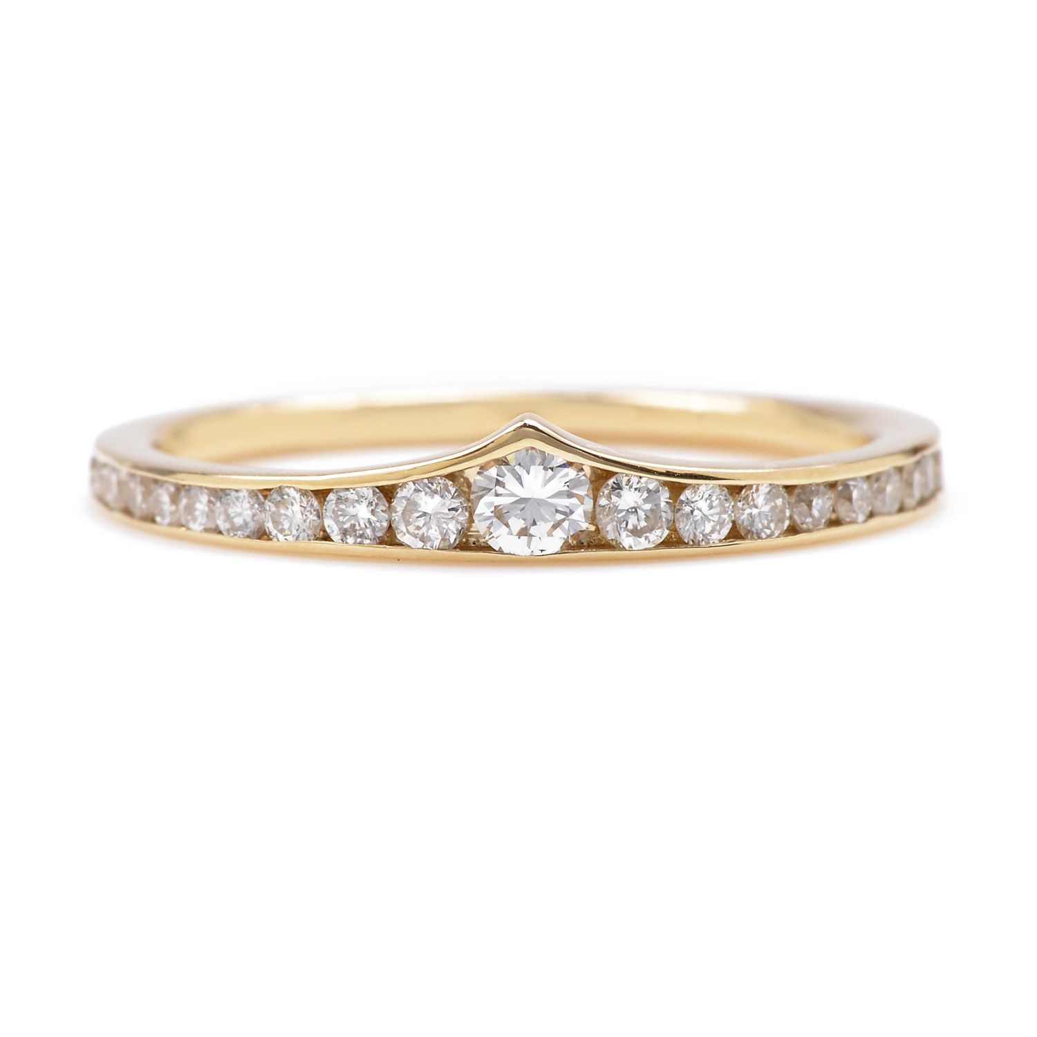 wonder woman wedding ring Diamond Wonder Woman Ring Currently available as a half eternity band Please inquire for