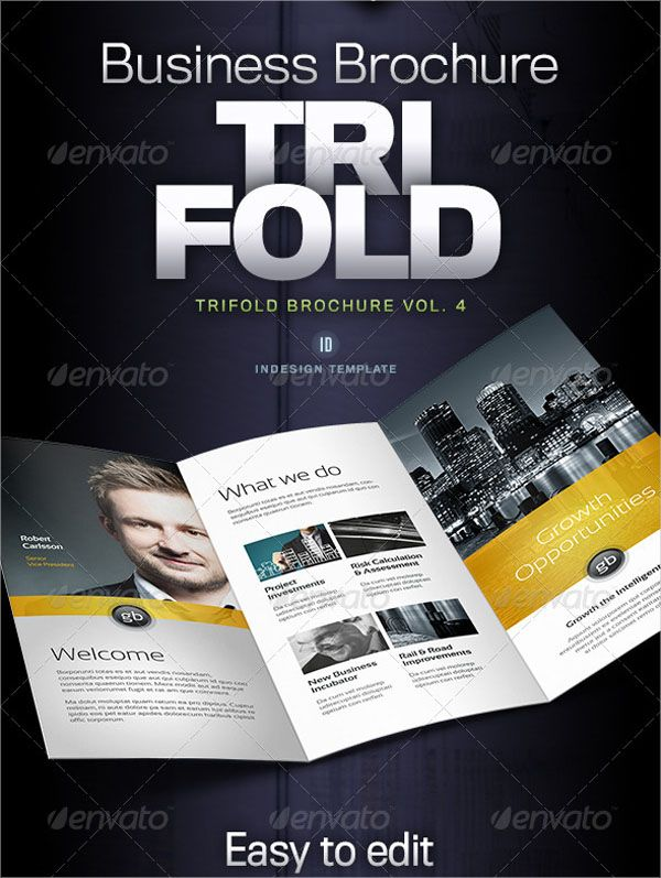 100+ Best Trifold Brochure Template Designs (Latest) | Brochure ...