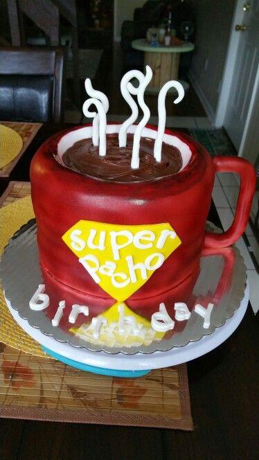 Coffee Mug Birthday Cake My Cakes Cake Birthday Cake Cake Pops