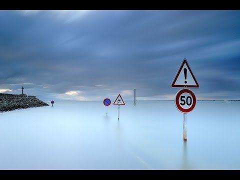 طريق في فرنسا يختفي تحت الماء مرتين في اليوم