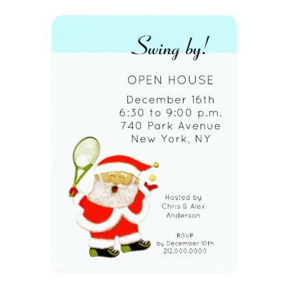 Christmas Holiday Open House Invitations - christmas cards merry