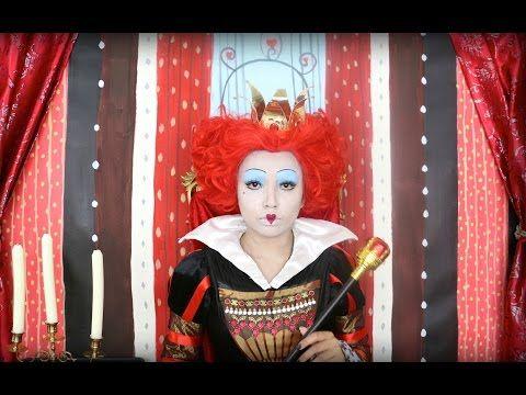 Queen of Hearts Makeup Tutorial ♥♥♥ - YouTube