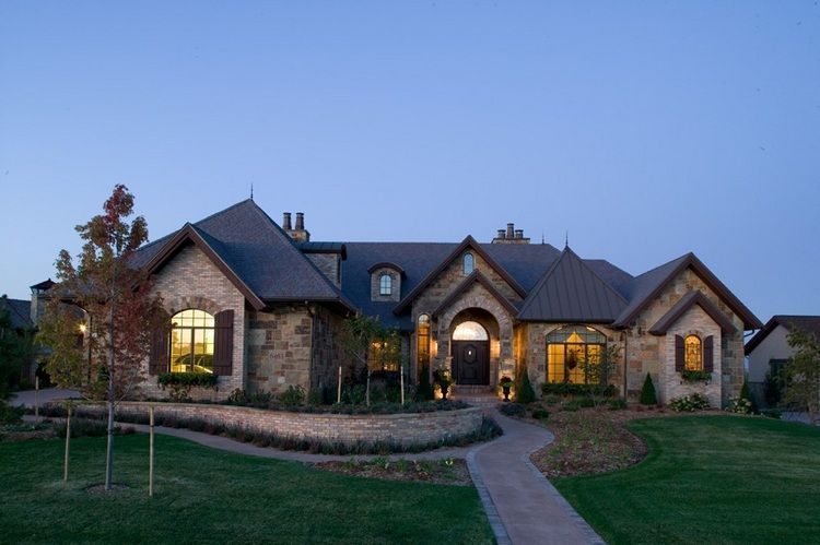 12++ Modern luxury ranch style homes image popular