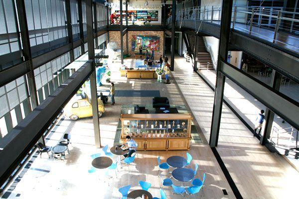 Pixars office interiors