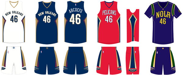 ef50692a3699 New Orleans Pelicans Uniforms