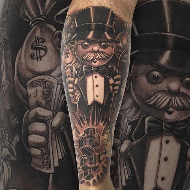 Get money therealrichierich mistercartoon for Mr art design