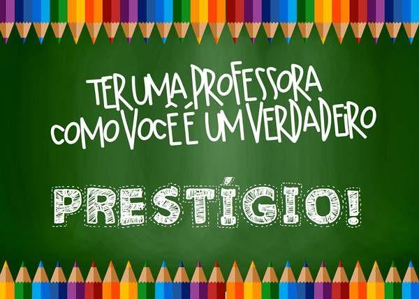 Cartao Prestigio Atividades Professor E Education