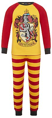 Harry Potter Children S Gryffindor Pyjamas Yellow Red Stripes Clothes Harry Potter Kids Red Stripes
