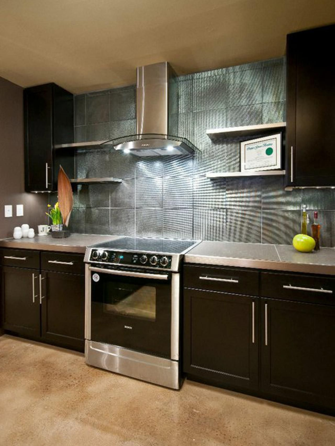 Modern Kitchen Backsplash Ideas Part - 20: 14 Kitchen Updates That Cost Less Than $200. Vent HoodBacksplash DesignBacksplash  IdeasModern ...