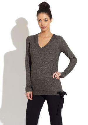 Pink Lotus Drawstring Pullover Sweater (via Ideeli)