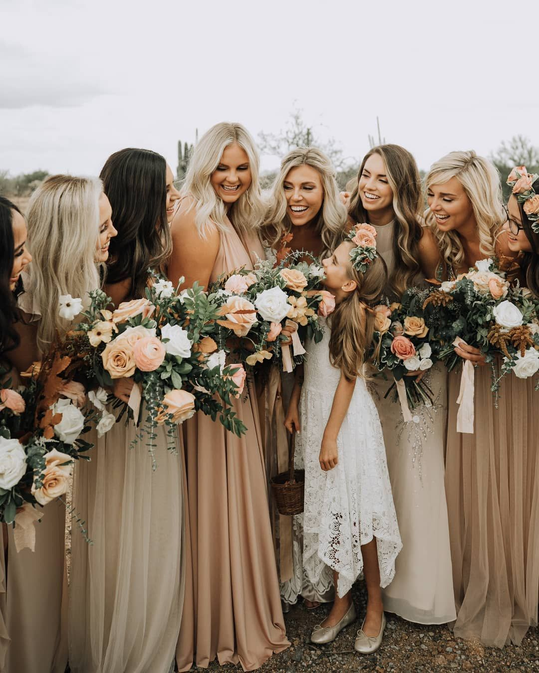 "Junebug Weddings on Instagram: ""Give us all of the soft neutral and warm tones! The earthy canvas color palette is here to stay and we're 100% here for it! Check out more…"""