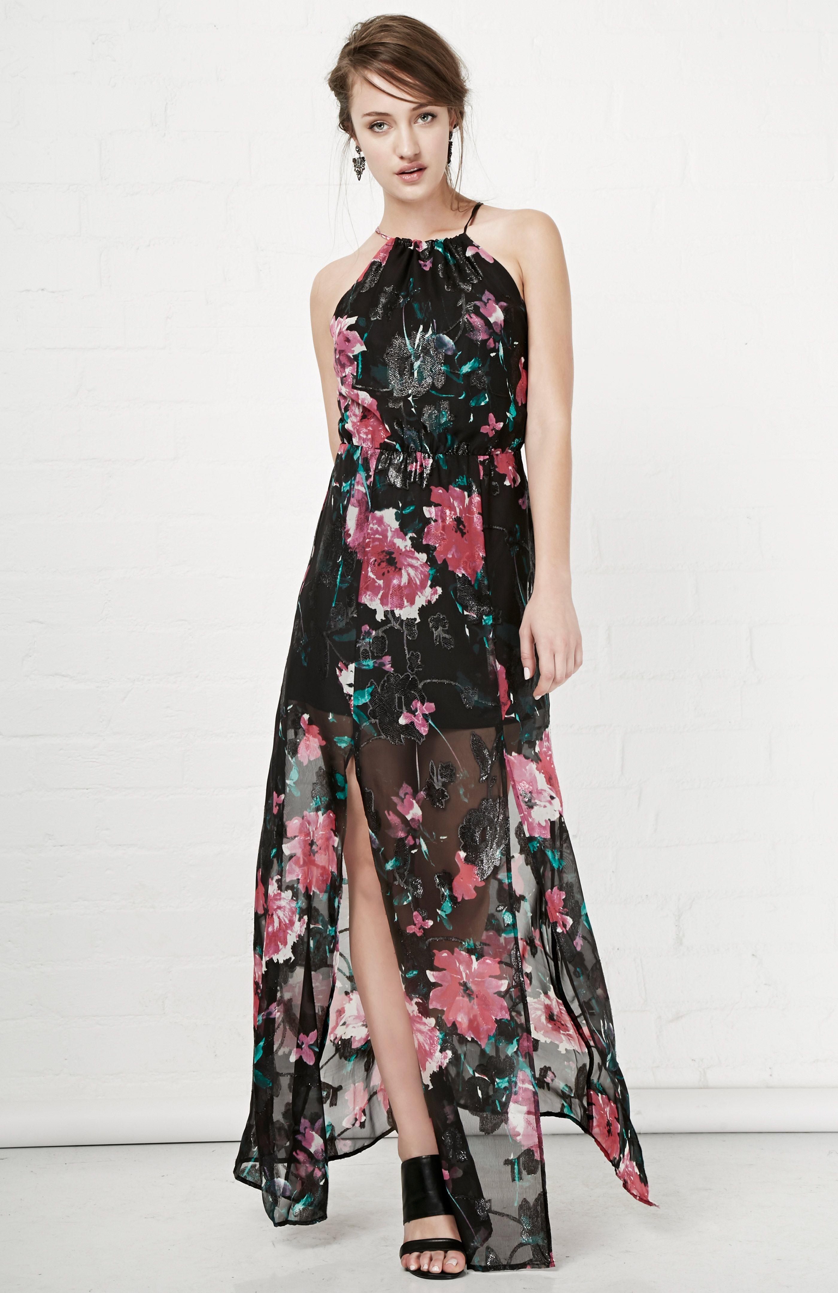 Tularosa bella maxi dress in black s at dailylook fashionable