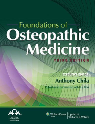 By robert c. Ward foundations for osteopathic medicine: 1st.
