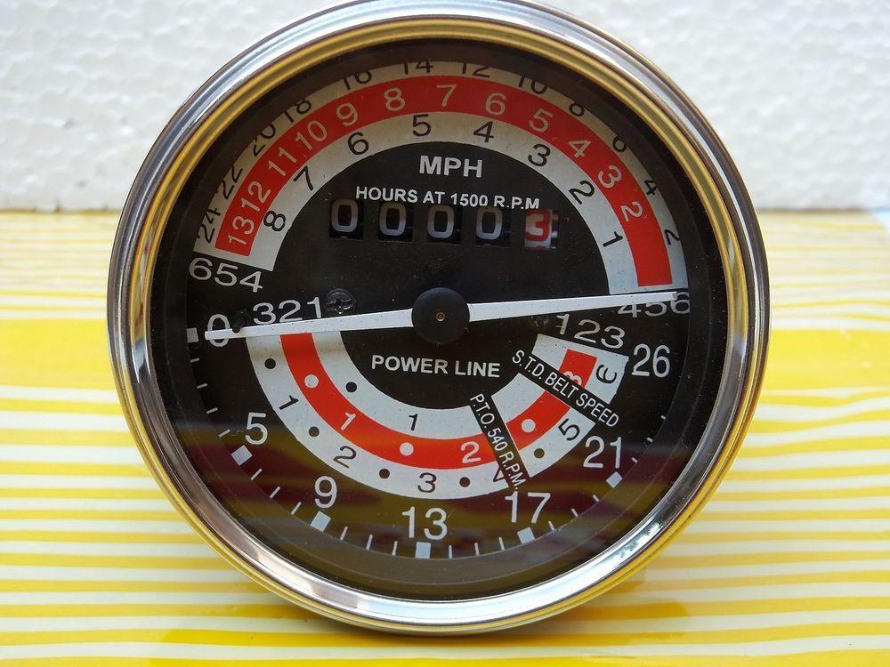 mph tachometer for massey ferguson 135, 148 tractor- 898469m91, 898471m91  #aftermarketnew