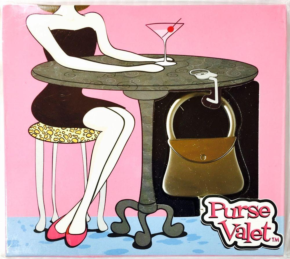 Purse Valet By Kate Aspen Handbag Tabletop Hanger Hook Holder New In Box Kateaspen Tabletophanger