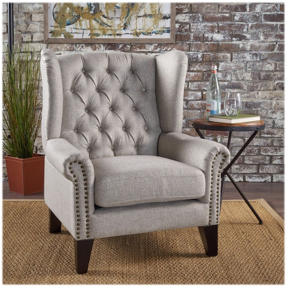 Best Noble House Greenville Accent Chair Beige In 2019 400 x 300