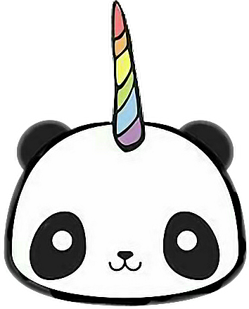 Freetoedit Pandacorn Pandacornio Panda Kawaii Remixit Panda Drawing Cute Panda Drawing Kawaii Panda