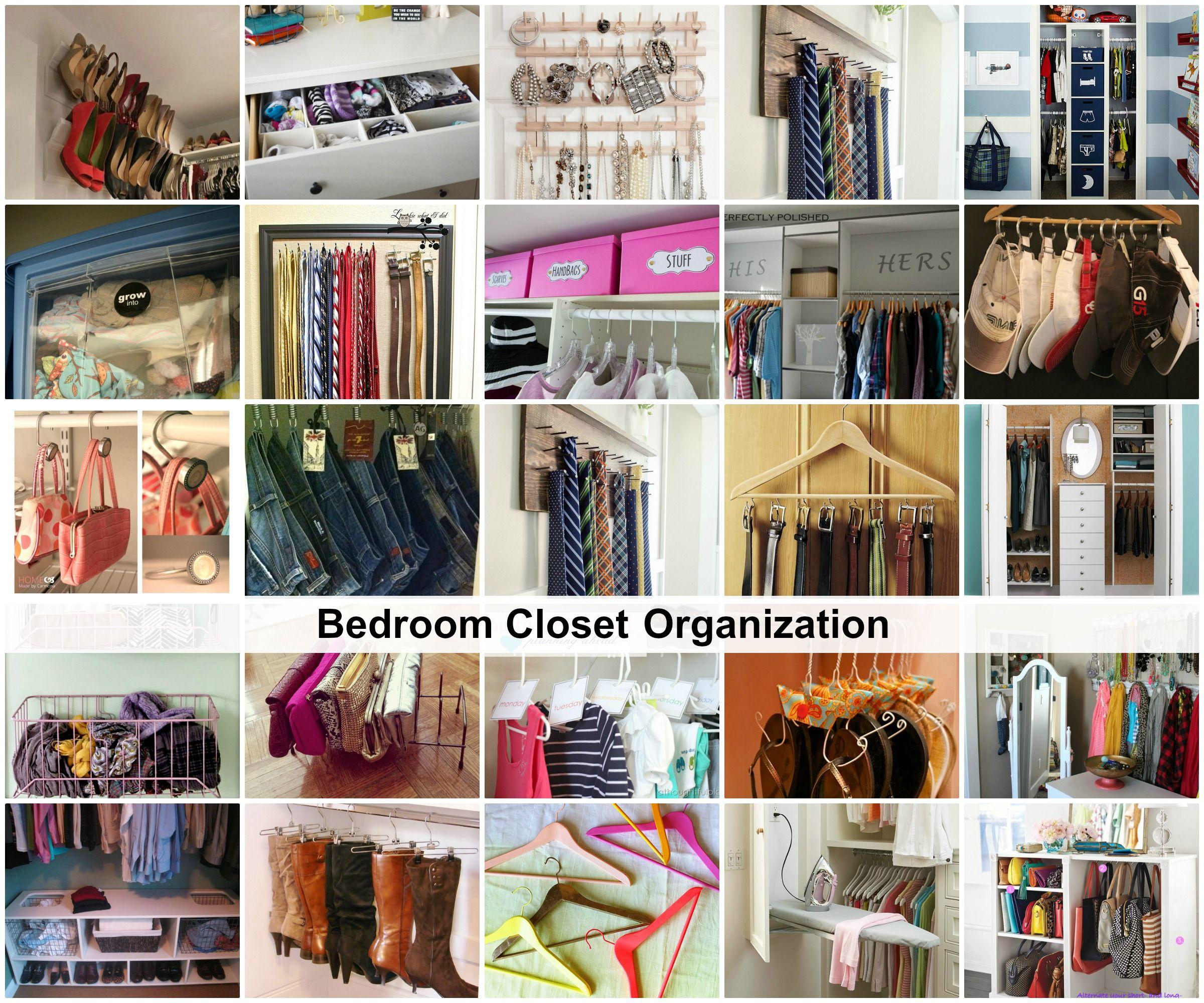 Closet Organization, Closet Bedroom