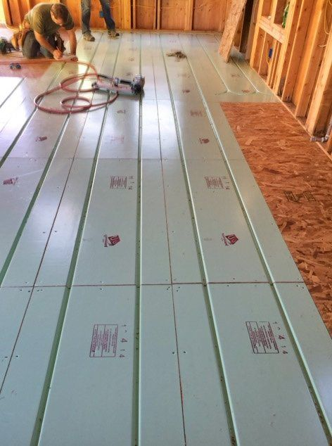 Tiny House Update Radiant Floor Heating Install Tiny Living