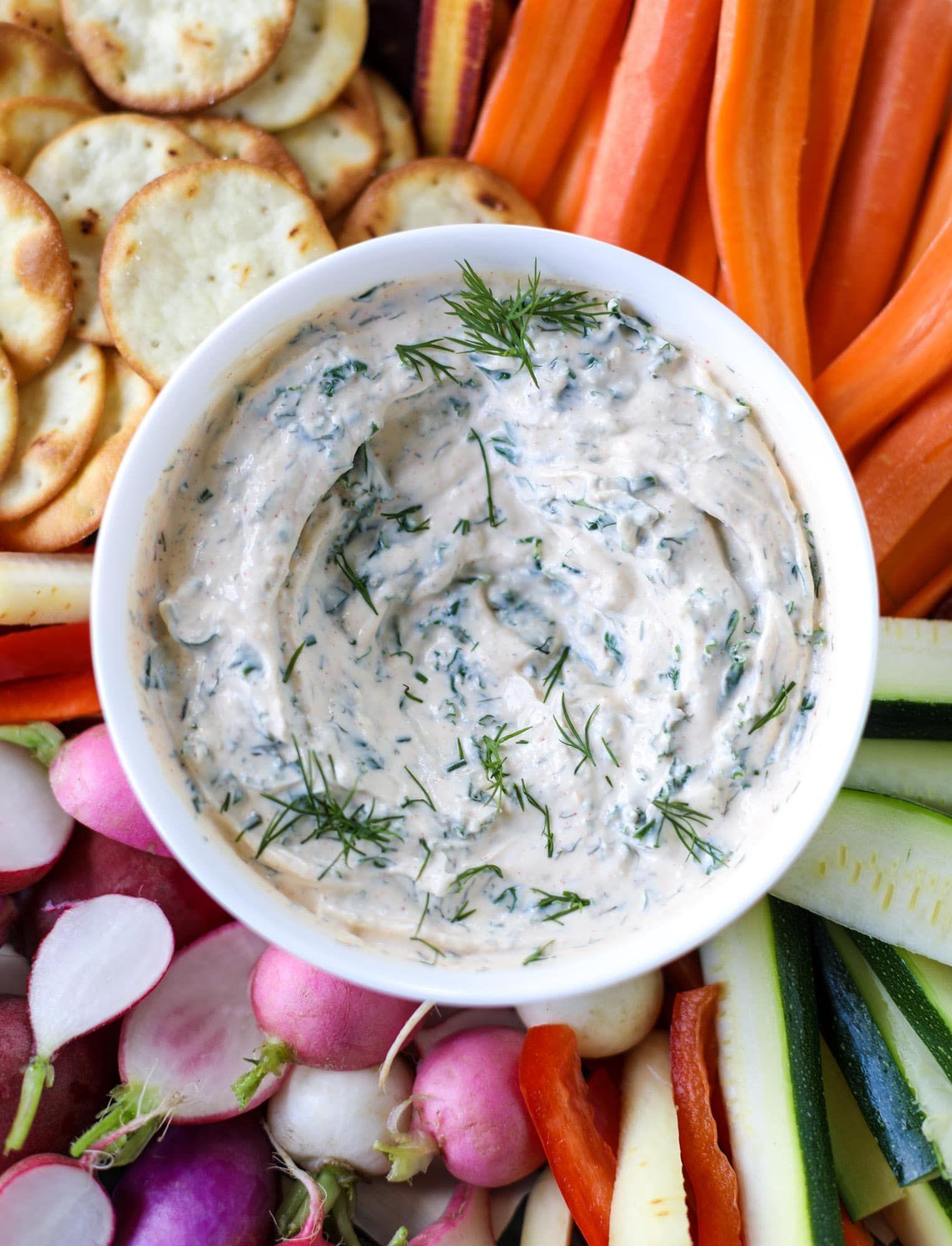 Greek yogurt ranch dip kale cool ranch dip recipe