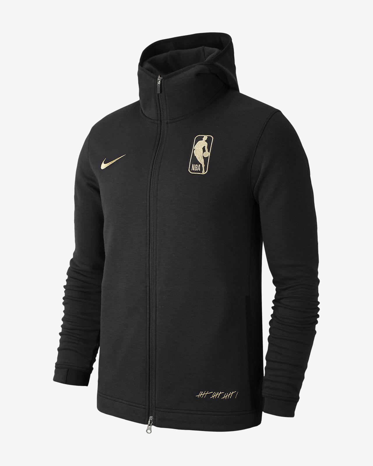 b0cb9818 Nike Dri-FIT Showtime Association Men's Full-Zip NBA Hoodie | S.F. ...