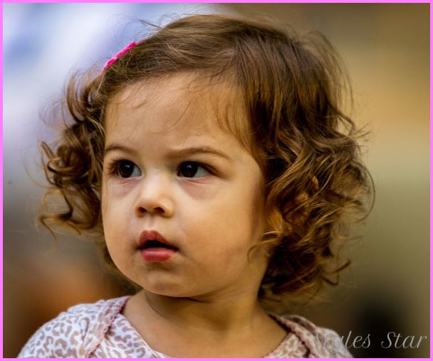 Cute Hairstyles Baby Girl Curly Hair For Girls