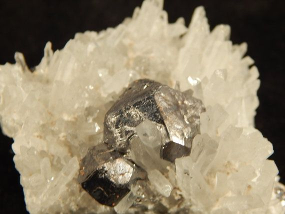 A Cluster of NICE Quartz Crystals and Galena by EarthsAncientArt