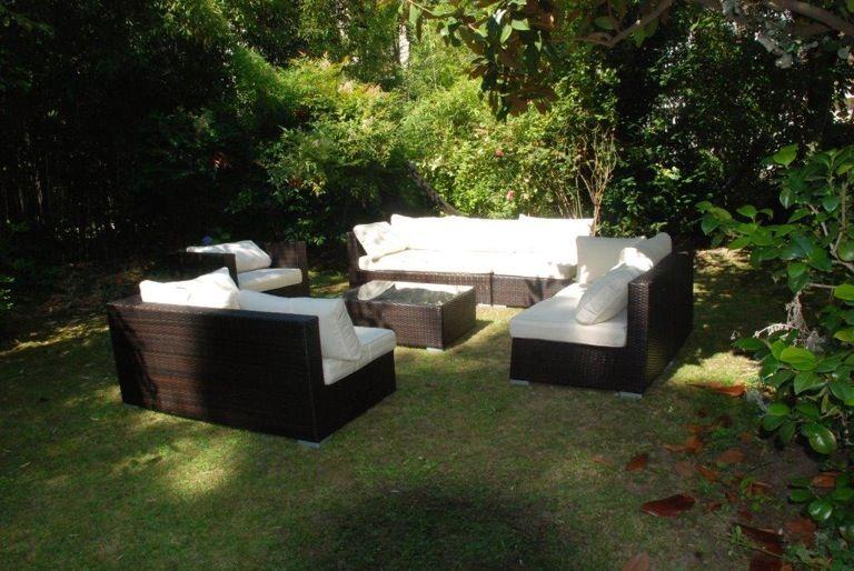 Salon de jardin Venezia 10 places Alice\'s Garden. Capacité d ...