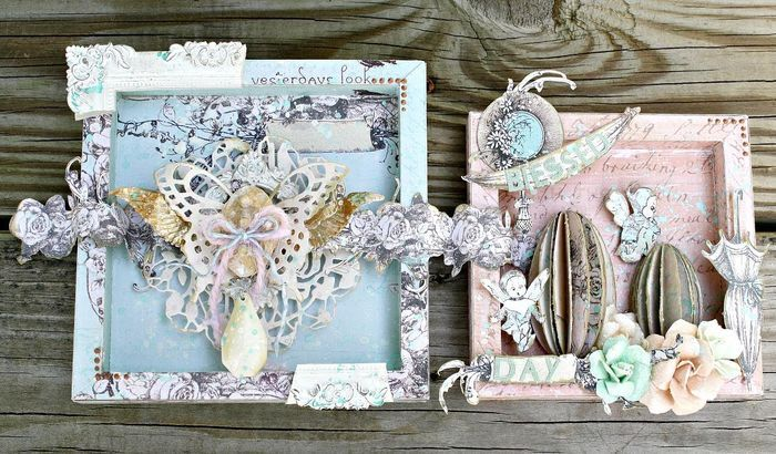 Our Easter Projects Are Just HOPPING! Our last project features these beautiful plaques by Miranda Edney! The Pixie Glen papers are simply perfect for Easter and make the sweetest pieces. See Miranda's tips and tricks for creating each one on her full-length video tutorial on our blog!