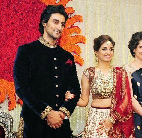 Naina Bachchan And Kunal Kapoor Wedding Reception Picture