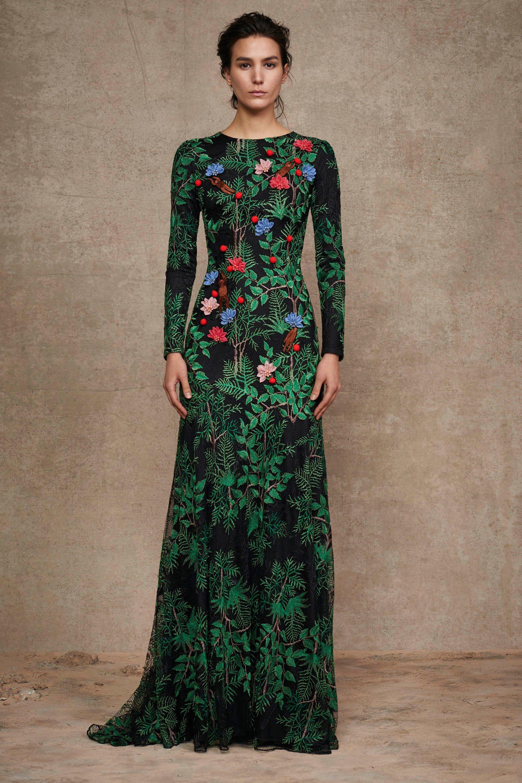 Tadashi Shoji Pre-Fall 2016 Fashion Show in 2018 | Dresses ...
