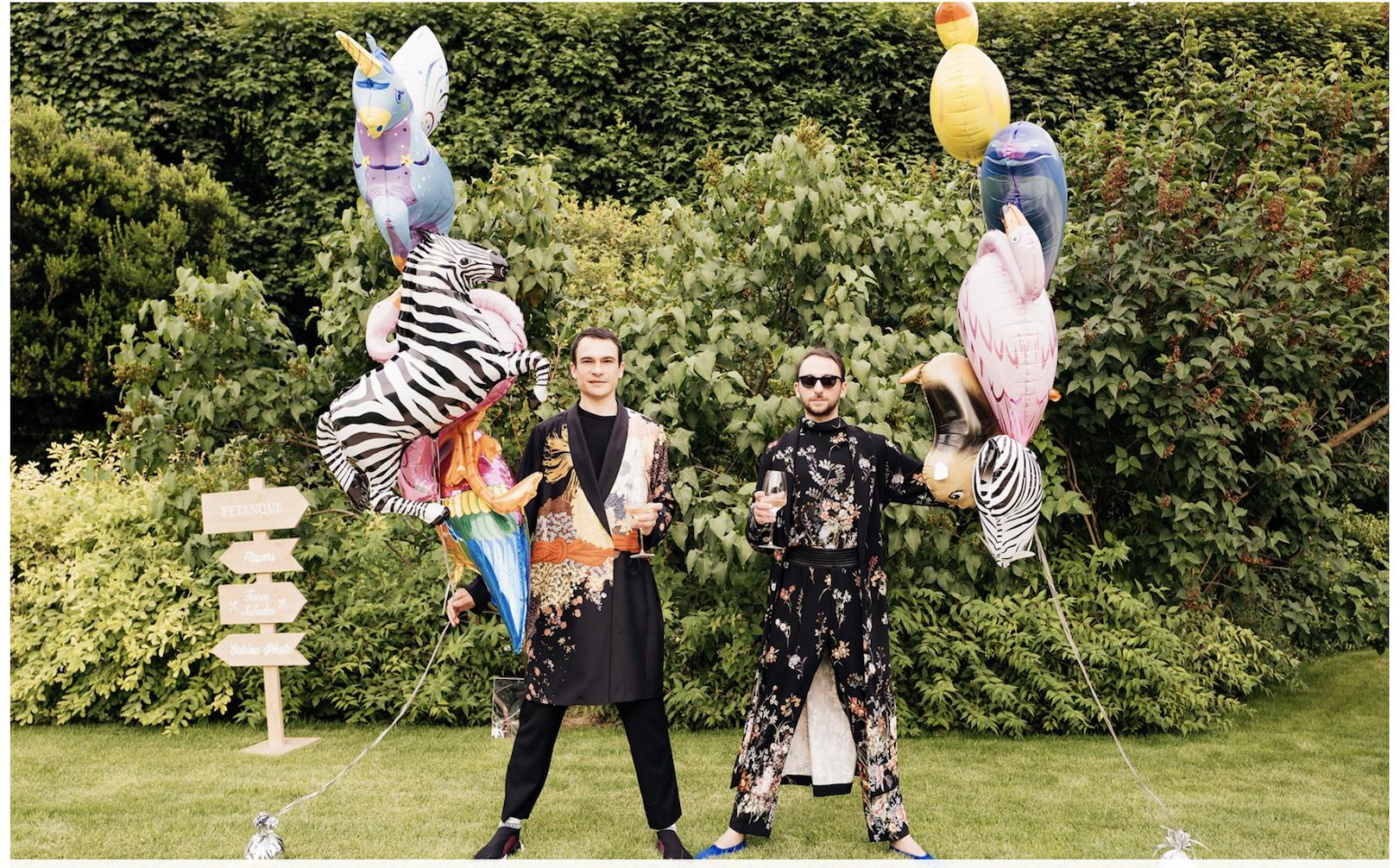 More balloons Anniversary photoshoot, Vogue wedding, The