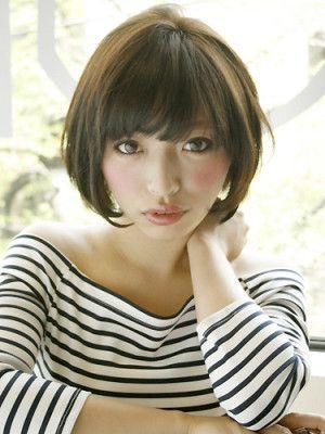 ヌーディーショート   MELANGE(メランジ)のヘアスタイル・髪型・ヘアカタログ - 美美美コム
