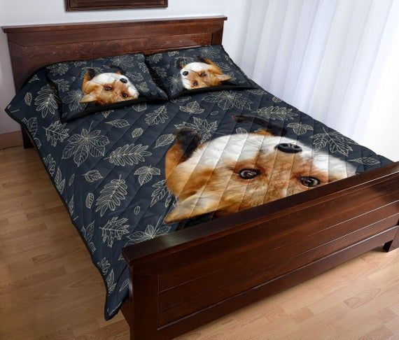 Funny Fox Bedding Set, Beautiful Animal Bed Sheet, Fox Lover's Gift, Bed Sheet Set, Personal Bedding