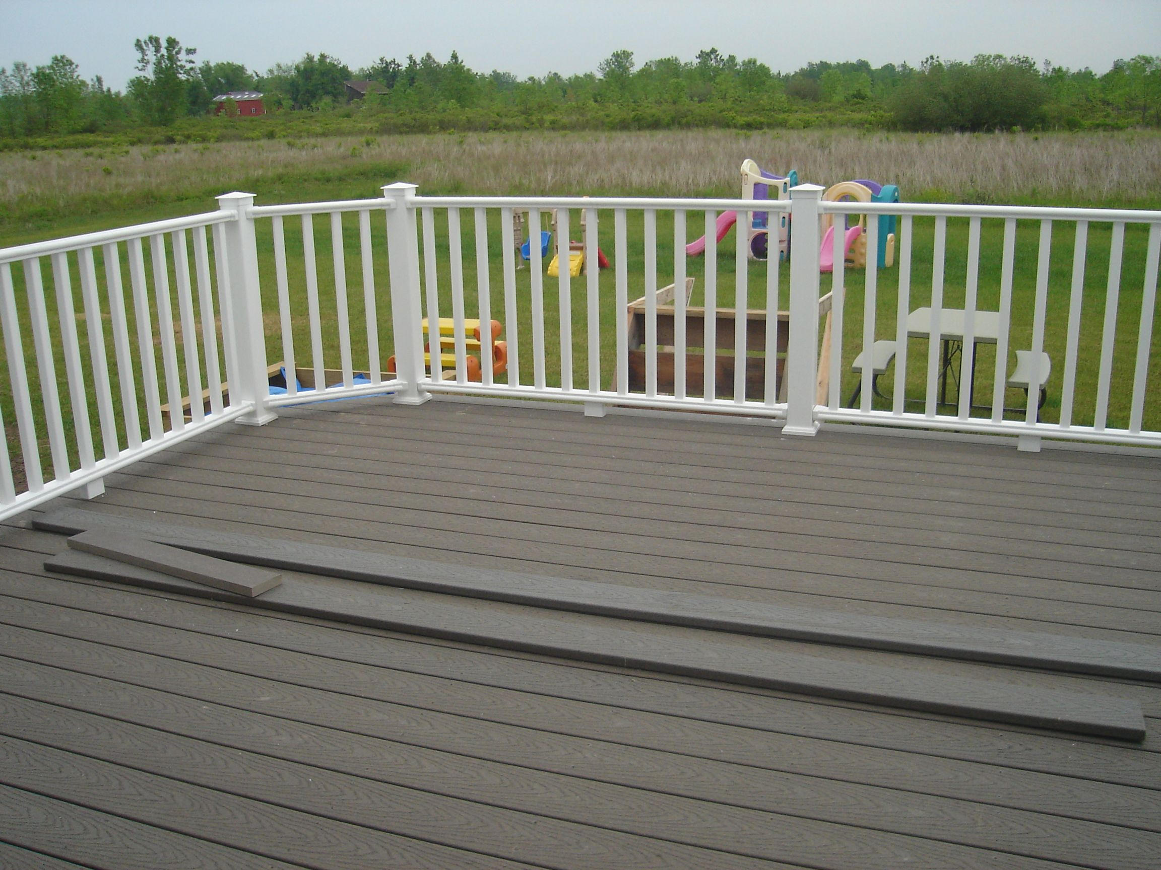 Tongue And Groove Composite Decking Pressure Treated Balcony
