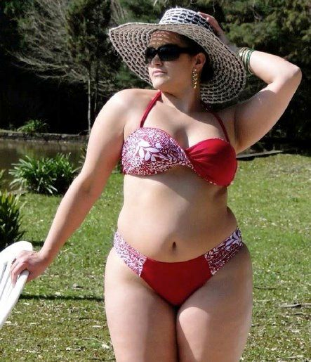 Bbw bikini conteswt