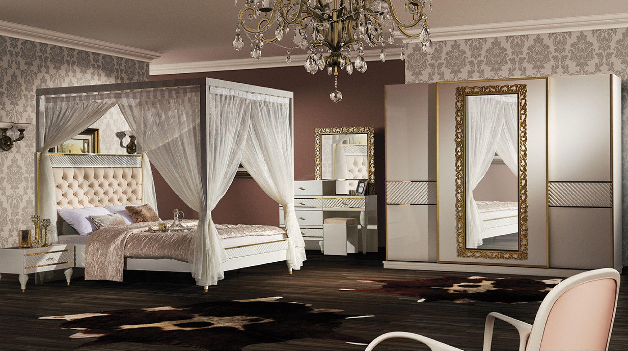 Enza home mobilya yatak odas modelleri 22 dekor sarayi - R Ya Avangard Yatak Odas Tak M