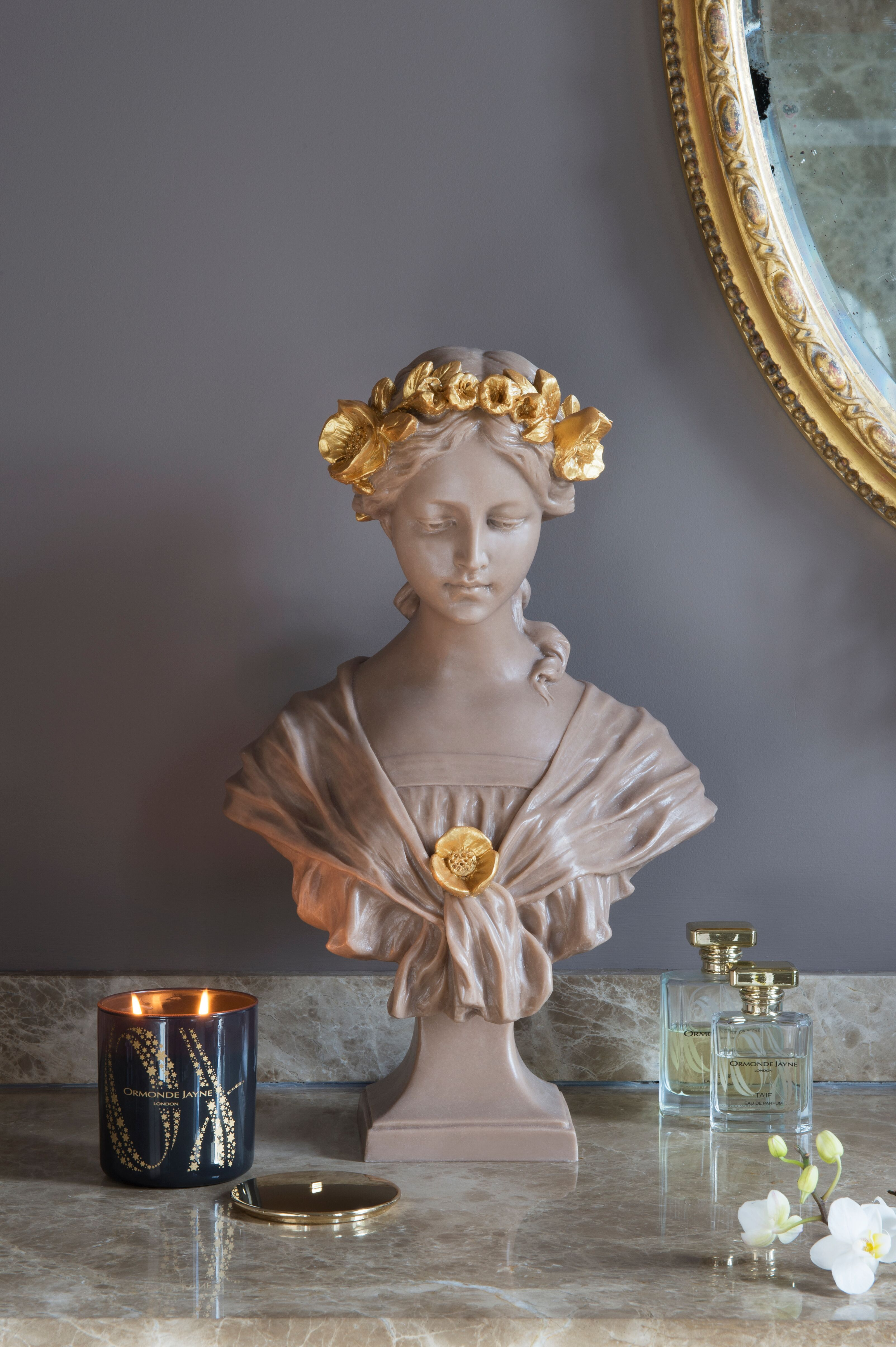"""The """"Antheia"""" Bust means """"flower"""" the Greek Myth name of"""